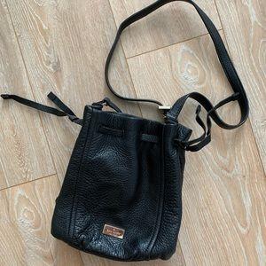 Kate Spade Black Bucket Bag
